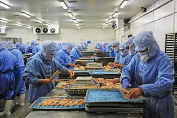 食品工場での勤怠管理システムに