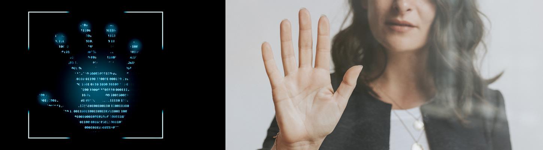 非接触型「手のひらによる生体認証」によるタイムレコーダー機能